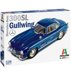 Mercedes-Benz 300 SL Gullwing 1:24 Italeri 1:24 Byggesett