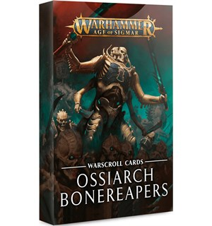 Ossiarch Bonereapers Warscroll Cards Warhammer Age of Sigmar