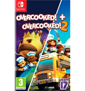 Overcooked 1 & 2 Switch