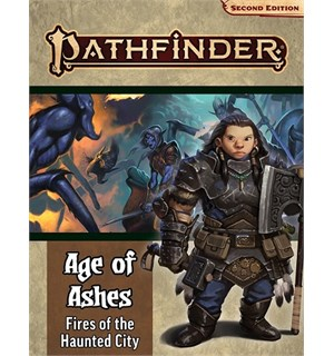 Pathfinder 2nd Ed Age of Ashes Vol 4 Fires of the Haunted - Adventure Path