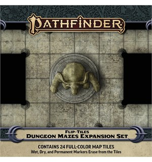 Pathfinder Flip Tiles Dungeon Mazes Exp For Flip-Tiles Dungeons Starter Set