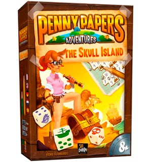 Penny Papers Skull Island Brettspill Penny Papers Adventures