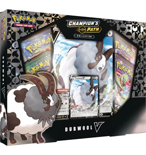 Pokemon Champions Path Dubwool V Box