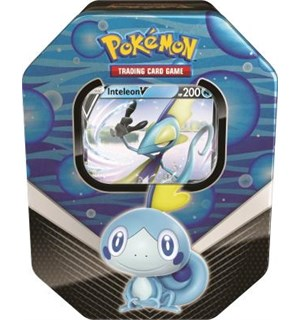 Pokemon Tin Galar Partners Inteleon V Spring 2020 Collector's Tin Box