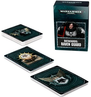 Raven Guard Datacards Warhammer 40K