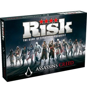 Risk Assasins Creed Brettspill