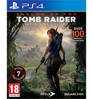 Shadow of the Tomb Raider DE PS4 Definitive Edition