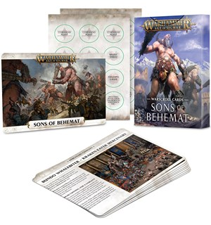 Sons of Behemat Warscroll Cards Warhammer Age of Sigmar