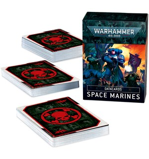 Space Marines Datacards Warhammer 40K