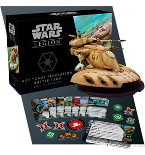 Star Wars Legion AAT Trade Federation Utvidelse til Star Wars Legion