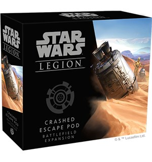 Star Wars Legion Crashed Escape Pod Exp Utvidelse til Star Wars Legion