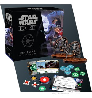 Star Wars Legion Droidekas Expansion Utvidelse til Star Wars Legion