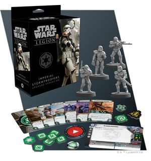 Star Wars Legion Stormtrooper Upgrade Utvidelse til Star Wars Legion