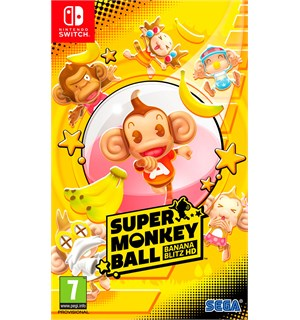 Super Monkey Ball Switch Banana Blitz HD