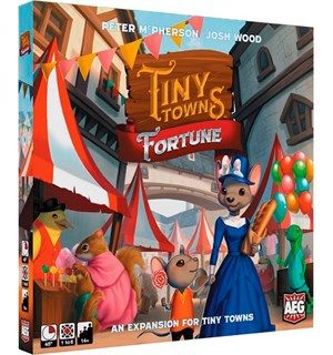 Tiny Towns Fortune Expansion Utvidelse til Tiny Towns