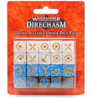 Underworlds Dice Grand Alliance Order Warhammer Underworlds Direchasm