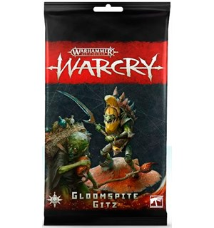 Warcry Cards Gloomspite Gitz Warhammer Age of Sigmar