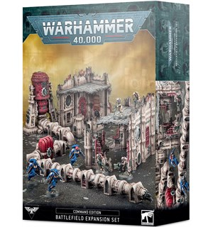 Warhammer 40K Command Ed Battlefield Exp Battlefield Expansion Set for Command Ed
