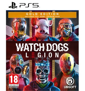 Watch Dogs Legion Gold Edition PS5 Season Pass med in-game bonuser ++