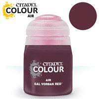 Airbrush Paint Gal Vorbak Red 24ml Maling til Airbrush