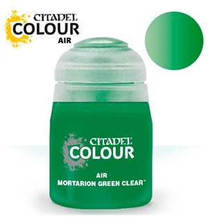 Airbrush Paint Mortarion Green Clea 24ml Maling til Airbrush