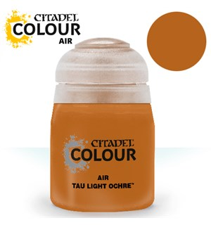 Airbrush Paint Tau Light Ochre 24ml Maling til Airbrush