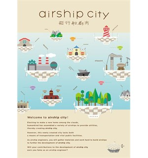 Airship City Brettspill