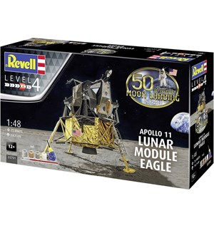 Apollo 11 Lunar Module Eagle Starter Set Revell 1:48 Byggesett