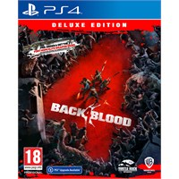 Back 4 Blood Deluxe Edition PS4 4 dager Early Access + DLC innhold