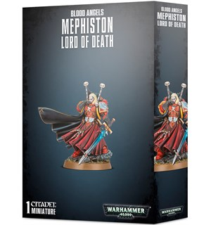 Blood Angels Mephiston Lord of Death Warhammer 40K