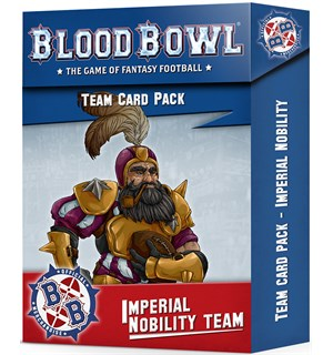 Blood Bowl Cards Imperial Nobility Team