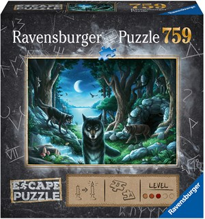 Curse of the Wolves 759 biter Puslespill Ravensburger Escape Room Puzzle