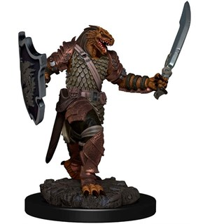 D&D Figur Icons Dragonborn Paladin Femal Icons of the Realm Premium Figures