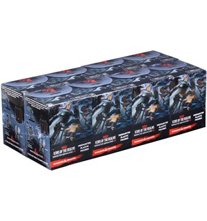 D&D Figur Icons Monster Menagerie 3 x32 Display - 8 bokser á 4 figurer per boks