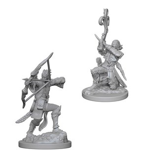 D&D Figur Nolzur Elf Bard Male Nolzur's Marvelous Miniatures - Umalt