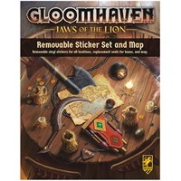 Gloomhaven Jaws of the Lion Sticker Set Removable Sticker Set