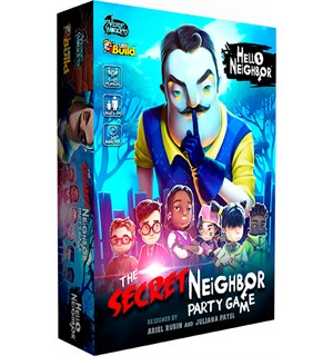 Hello Neighbor Brettspill The Secret Neighbor Party Game
