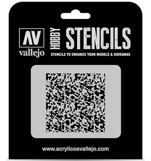 Hobby Stencils Weathered Paint 1:72 Vallejo