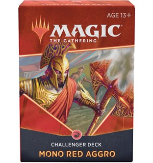 Magic Challenger Deck Mono Red Aggro Magic Challenger Deck 2021