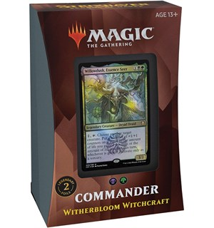 Magic Strixhaven Commander Witherbloom Witherbloom Witchcraft - Commander Deck