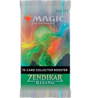 Magic Zendikar Rising Collector Booster 15 kort - FOR SAMLERE
