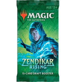 Magic Zendikar Rising DRAFT Booster 15 kort