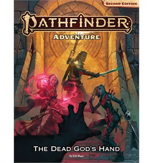 Pathfinder 2nd Ed Dead Gods Hand Second Edition RPG - Deluxe Adventure