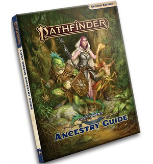 Pathfinder 2nd Ed Lost Omens Ancestry Gu Second Edition RPG - Ancestry Guide