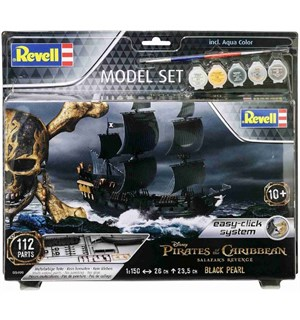 Pirates Black Pearl Starter Set Revell 1:150 Byggesett