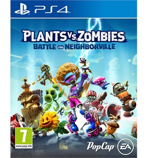 Plants vs Zombies Neighborville PS4 Battle for Neighborville