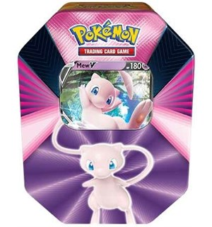 Pokemon Tin Box V Forces Mew V