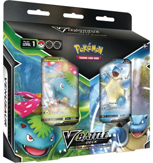 Pokemon V Battle Deck Venusaur/Blastoise Venusaur Vs. Blastoise