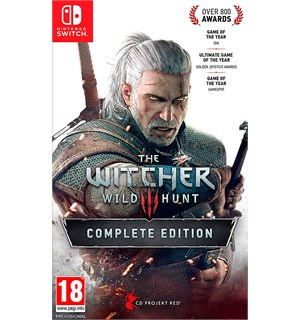 The Witcher 3 Wild Hunt COMPLETE Switch Complete Edition