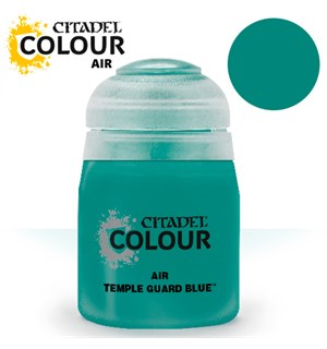 Airbrush Paint Temple Guard Blue 24ml Maling til Airbrush